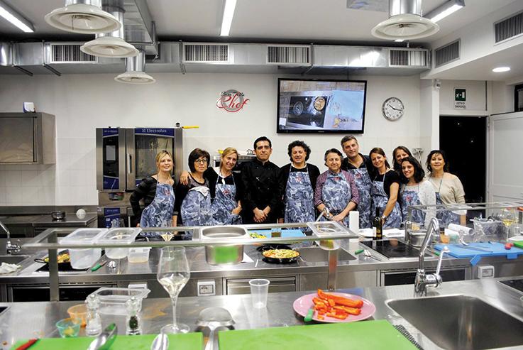 Imparare cucinando mangiaebevi - Scuola di cucina roma ...